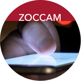 link to Zoccam mobile app page